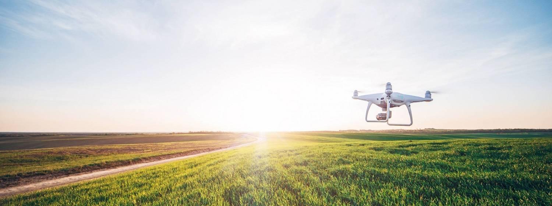 Einsatz von Drohnen im Pflanzenbau