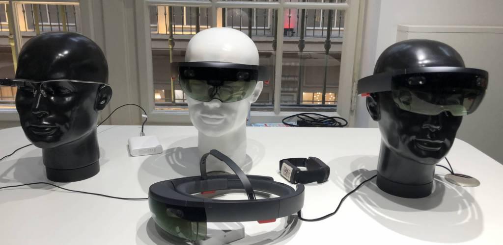 VR-Brillen im Logistics Living Lab